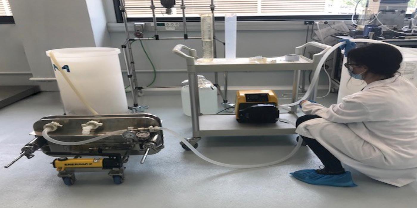 Leanbio optimiza la manufactura biológica con bombas WMFTG