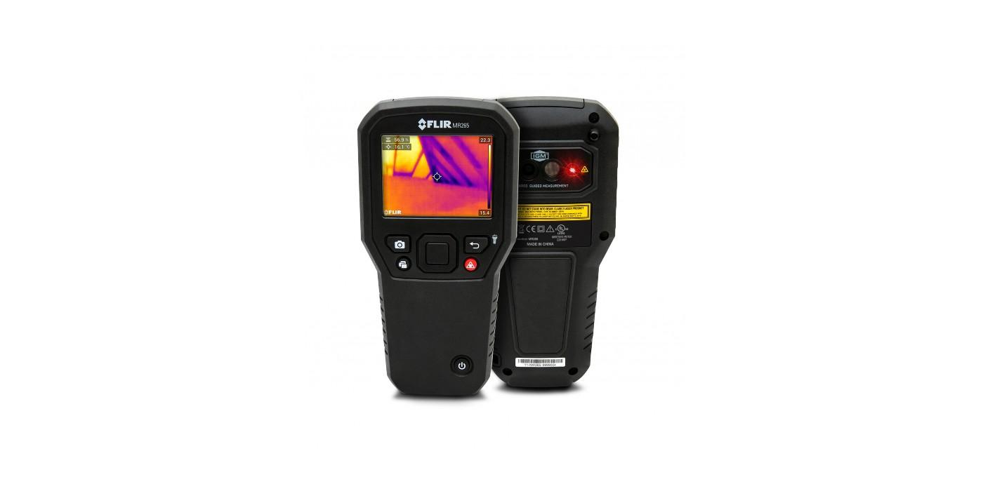 Teledyne FLIR lanza el medidor de humedad y la cámara termográfica FLIR MR265 con MSX®