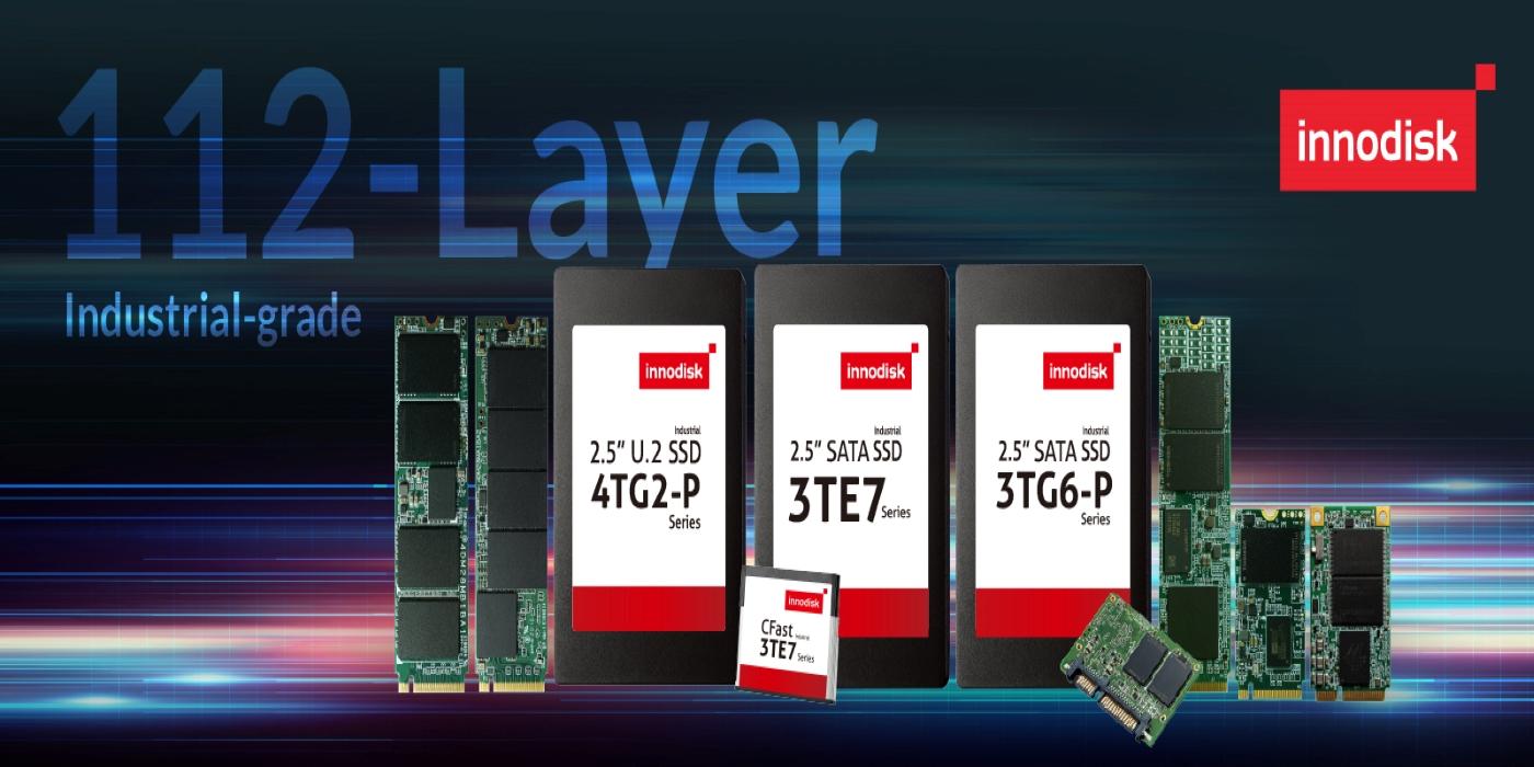 Innodisk presenta los primeros SSDs 3D TLC de 112 capas de categoría industrial del mundo