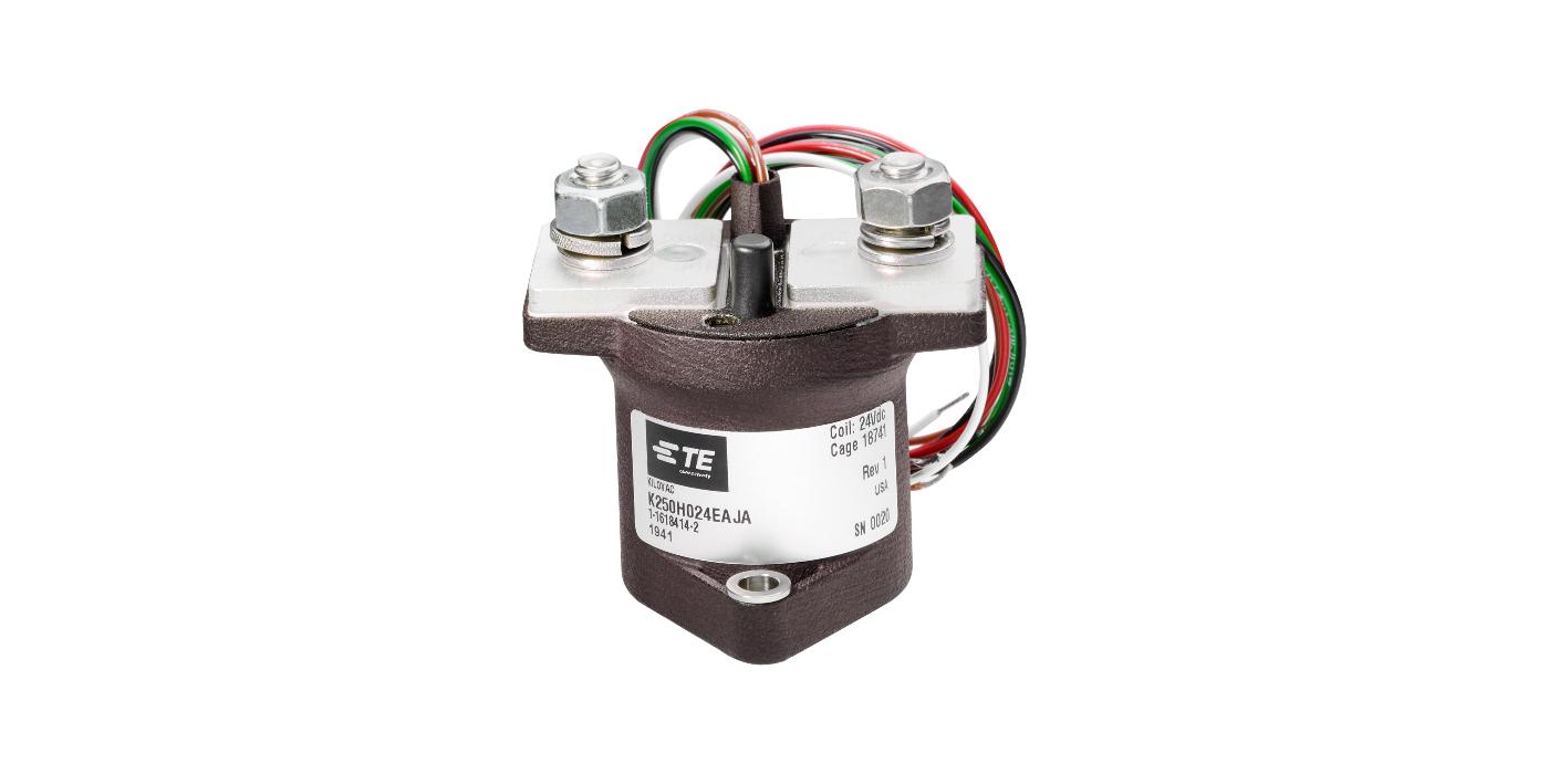 Contactores DC de alta tensión para entornos adversos