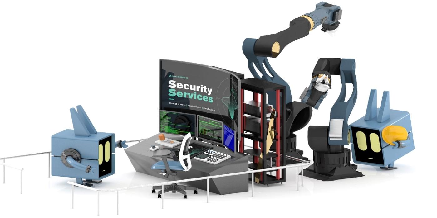 Una empresa vitoriana lidera un grupo internacional que lucha contra la ciberdelincuencia en la robótica