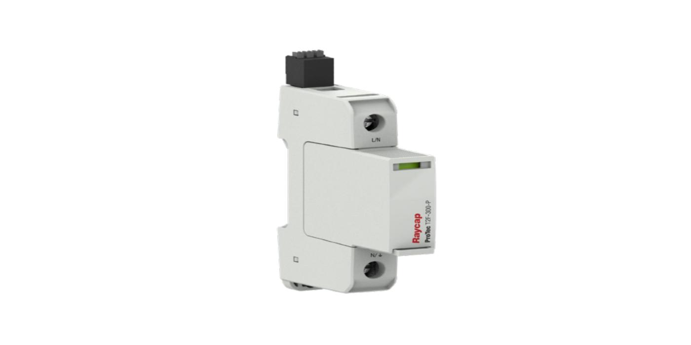 Protección de sobretensión (SPD) con fusible integrado