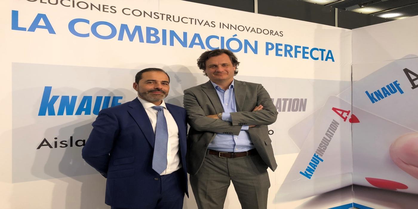 Knauf y Knauf Insulation mostrarán su conocimiento y la aplicación de los sistemas constructivos más eficientes en Edifica 2021