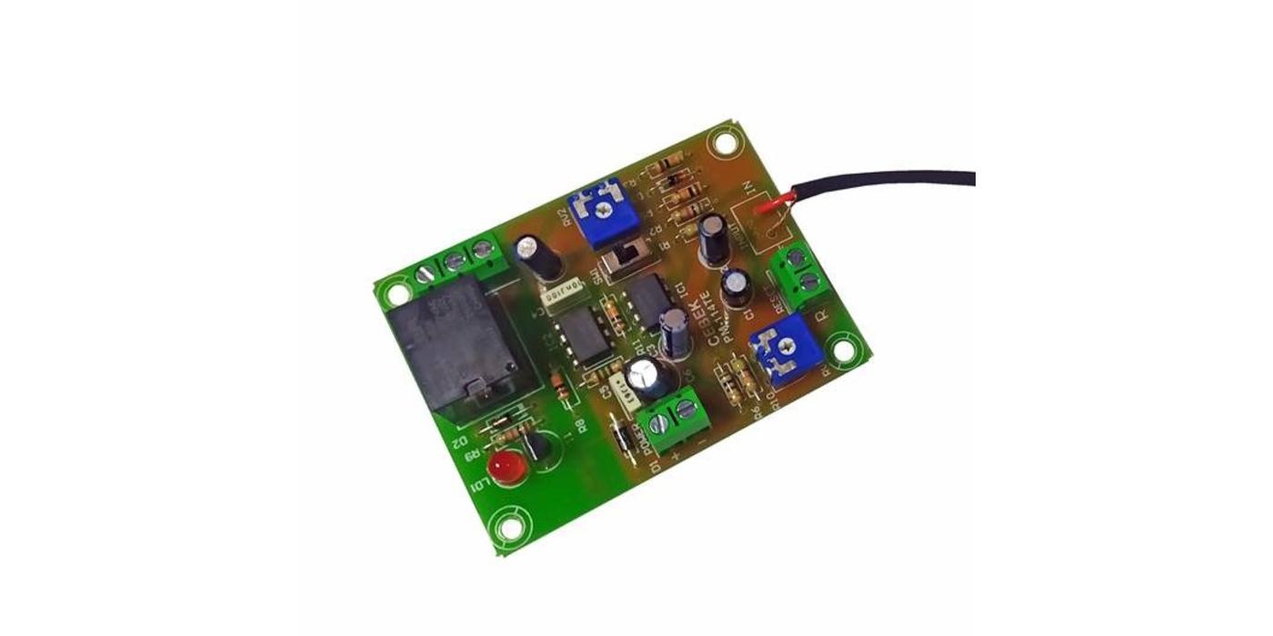 Nuevo VOX COBTROL temporizado y biestable a 12Vcc, nuevo PM-15