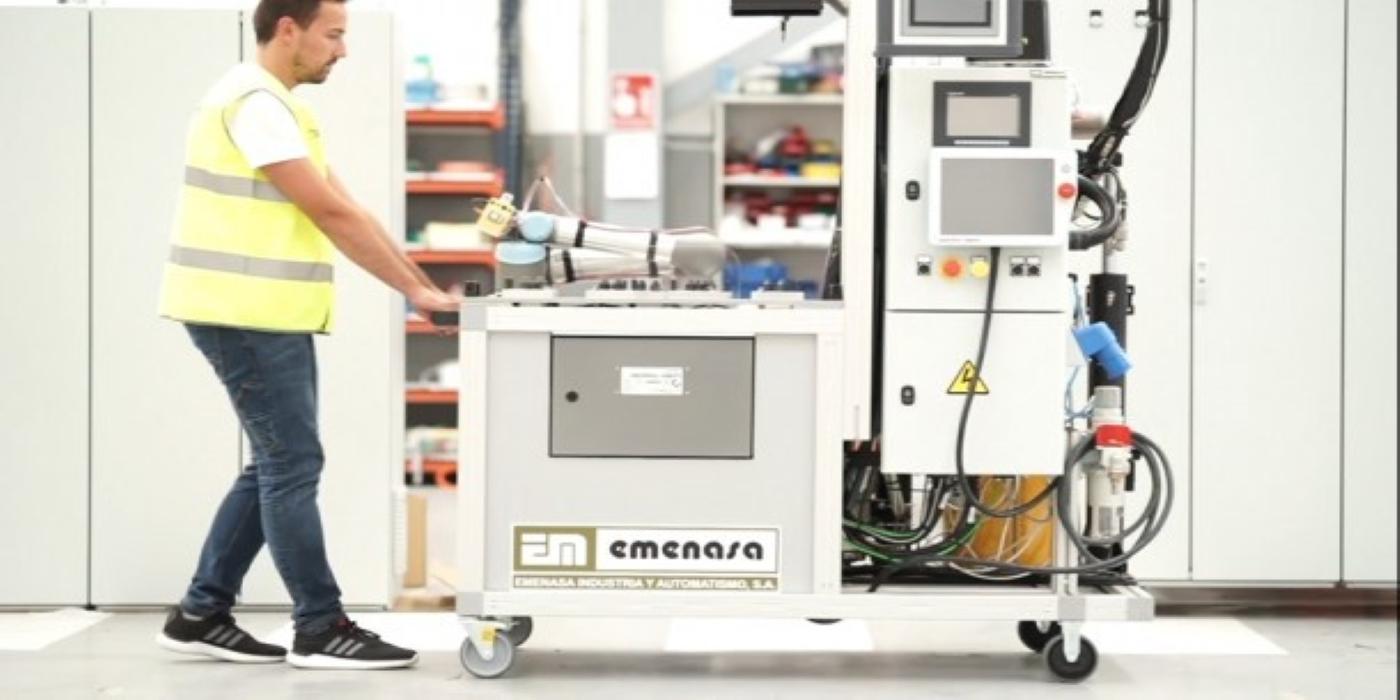 Emenasa Industria, integrador de Universal Robots, desarrolla un cobot capaz de automatizar la aplicación de mástico para el sector de la automoción