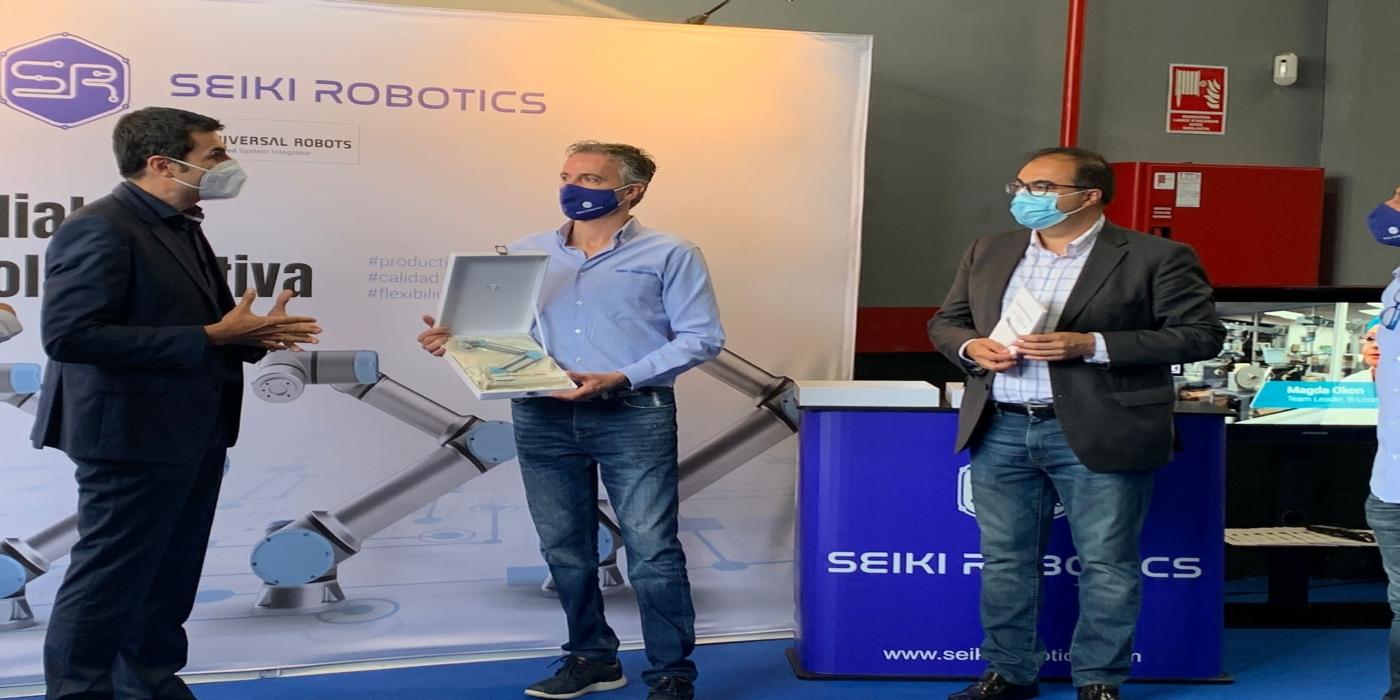 UNIVERSAL ROBOTS amplía su presencia en el centro de españa con la incorporación de seiki robotics a su red de integradores