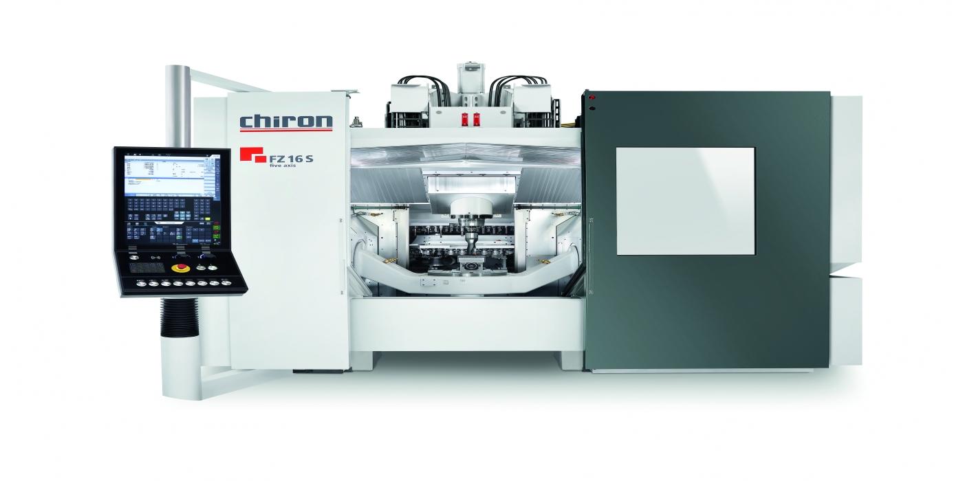 Colaboración entre el grupo CHIRON y NSK: Centros de mecanizado que incorporan husillos a bolas con tuerca refrigerada para incrementar la calidad superficial de las piezas mecanizadas