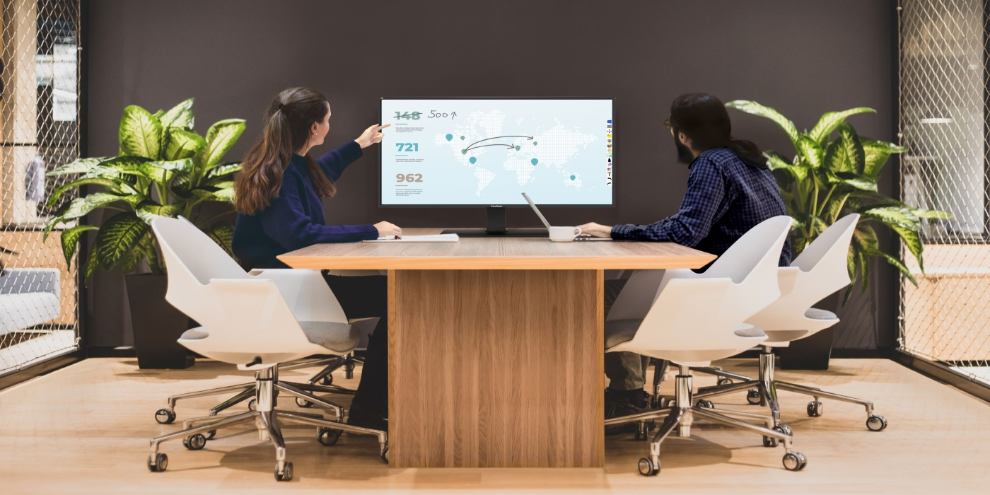 ViewSonic presenta ViewBoard 4320 para crear espacios colaborativos en entornos de trabajo híbridos
