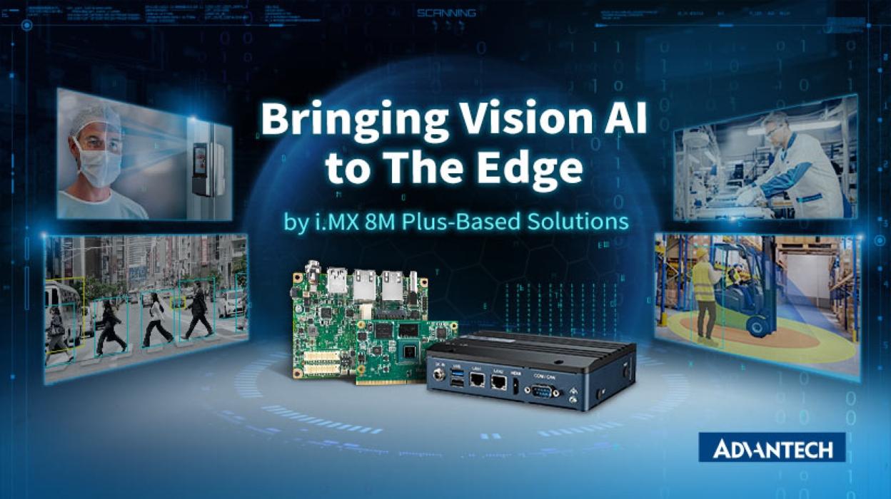 Las plataformas Nativas de IA basadas en i.MX 8M Plus de Advantech Potencian los Sistemas Industrial Edge