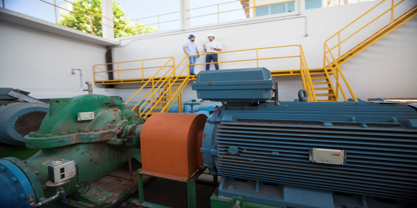 ABB ayuda a reducir un 25 % el consumo energético y aumentar la fiabilidad de las estaciones de bombeo de agua
