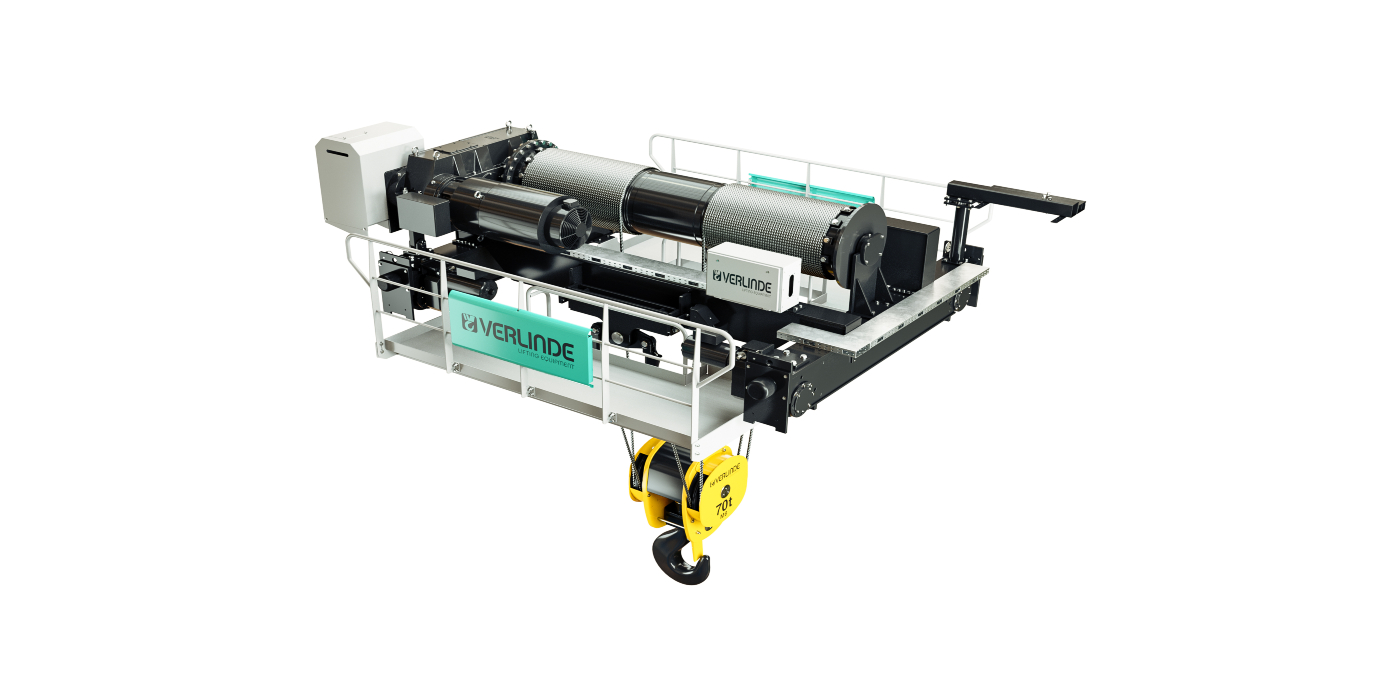 VERLINDE adds a new range of PDW open winches for heavy applications to its catalogue