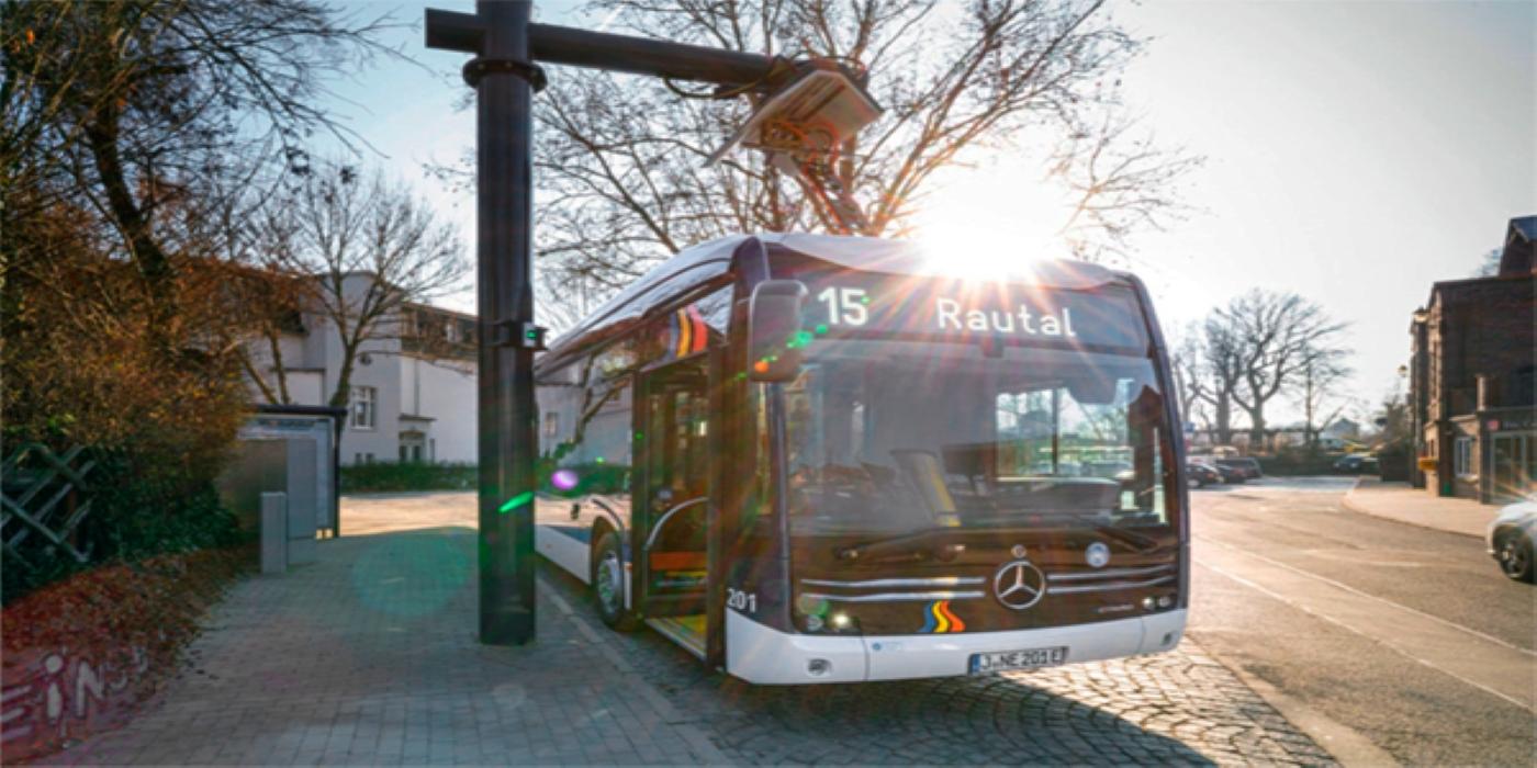 Monitoreo de las estaciones de carga de la flota de e-bus de la ciudad de Jena
