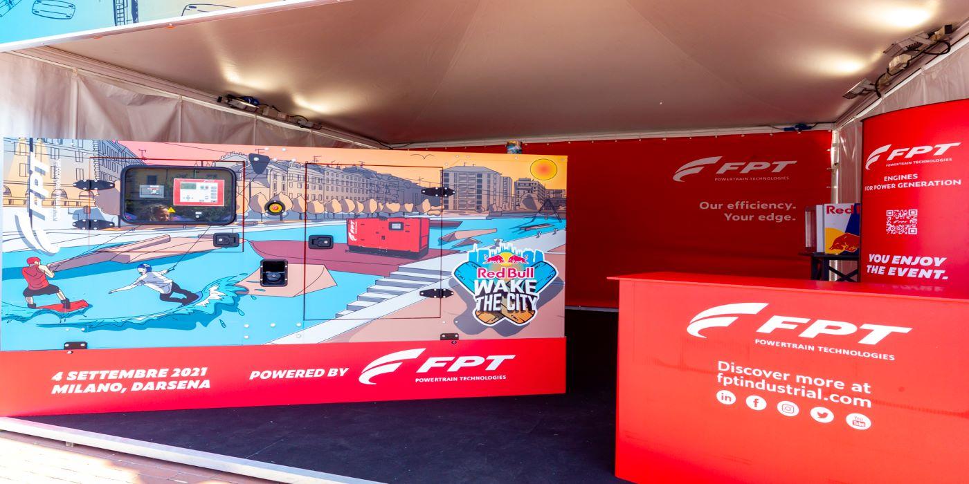 """FPT INDUSTRIAL es el socio técnico oficial de """"RED BULL WAKE THE CITY"""""""