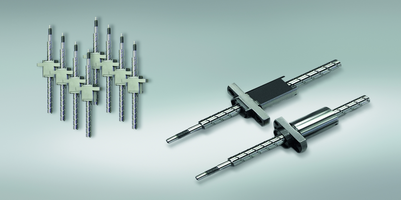 Big performance from small NSK ball screws