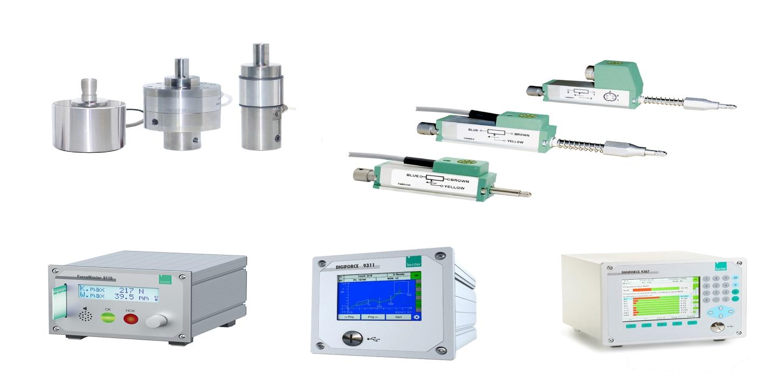 Ixthus ofrece soluciones de medición que mejoran la calidad para prensas manuales con celdas de carga Burster, sensores de desplazamiento y hardware de monitoreo de fuerza.