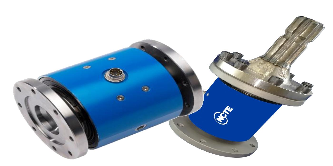 Medición de par de transmisión de potencia: los sensores de par montados en eje en línea de NCTE están disponibles en Ixthus.