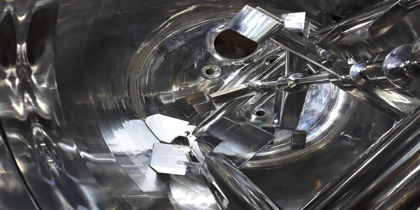 Agitadores Coaxiales Diseñados para productos de alta viscosidad