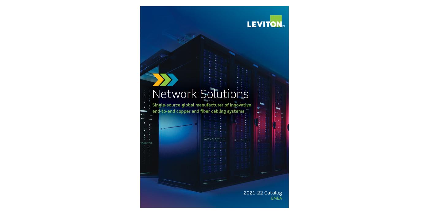 """Las novedades del nuevo catálogo """"Network Solutions 2021"""" de Leviton, ya en Grupo COFITEL"""