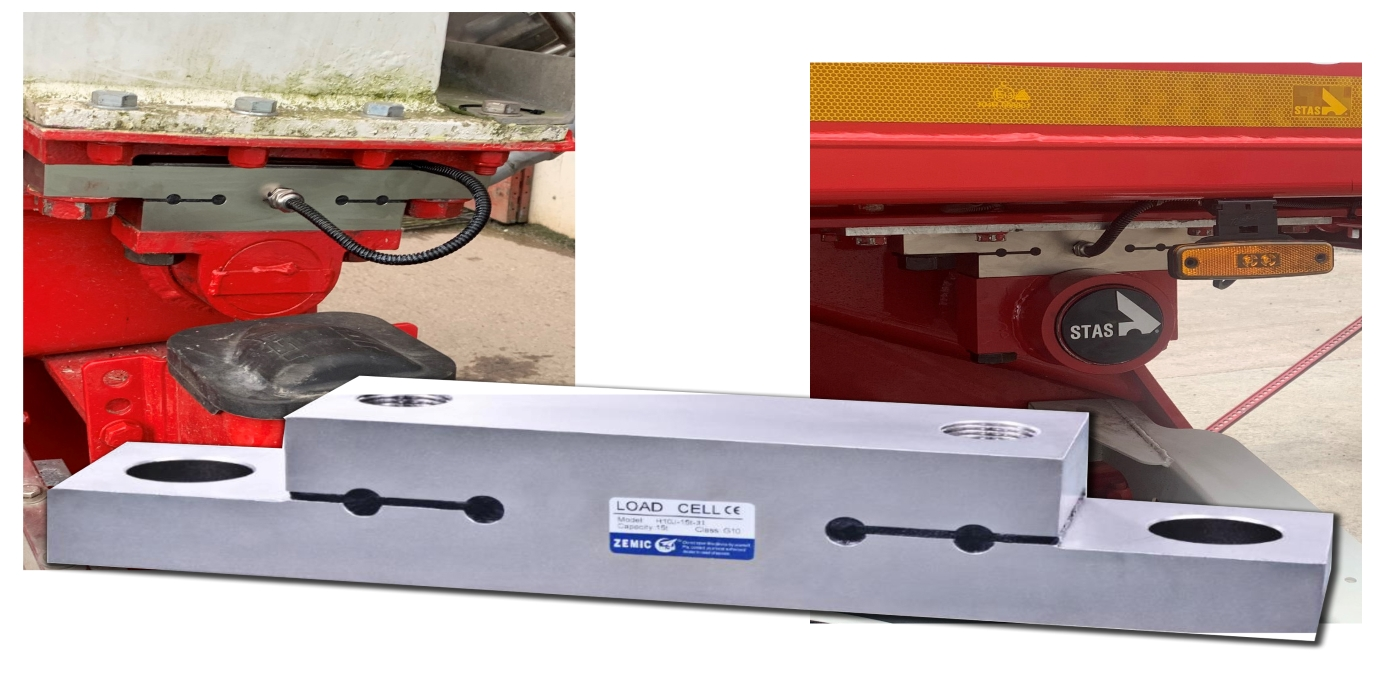 Pesaje a bordo de camiones y remolques: Variohm suministra celdas de carga Zemic a Onboard Solutions & Sons