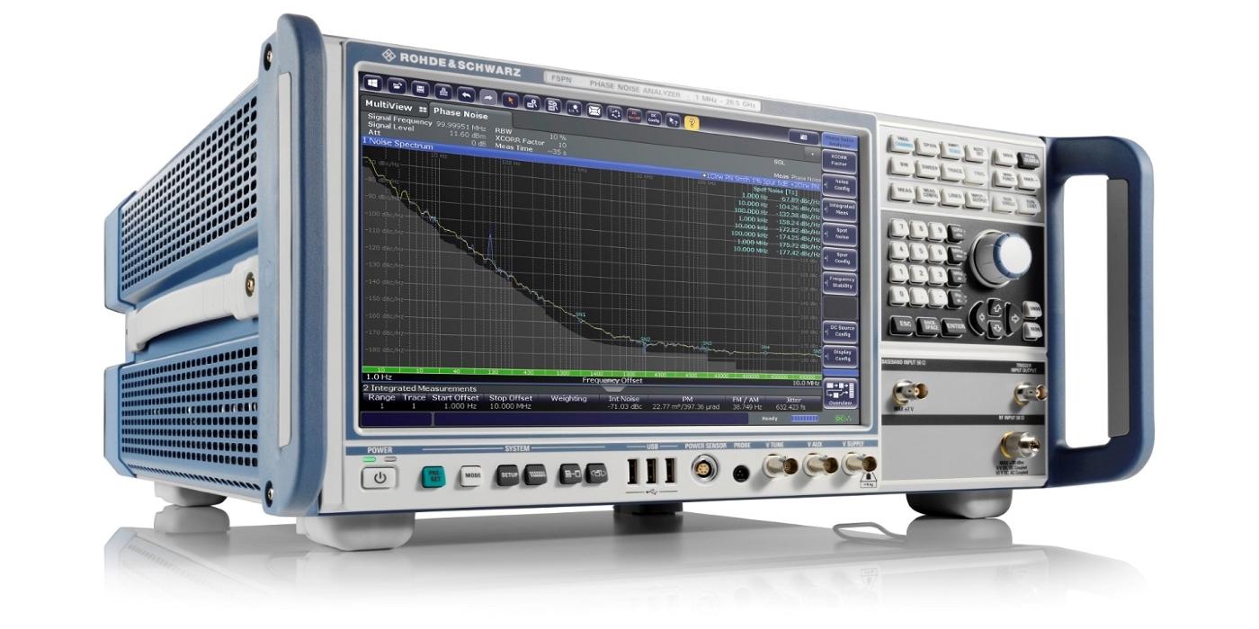 Rohde & Schwarz presenta el análisis de ruido de fase dedicado y la excelencia en las pruebas de VCO con el R&S FSPN