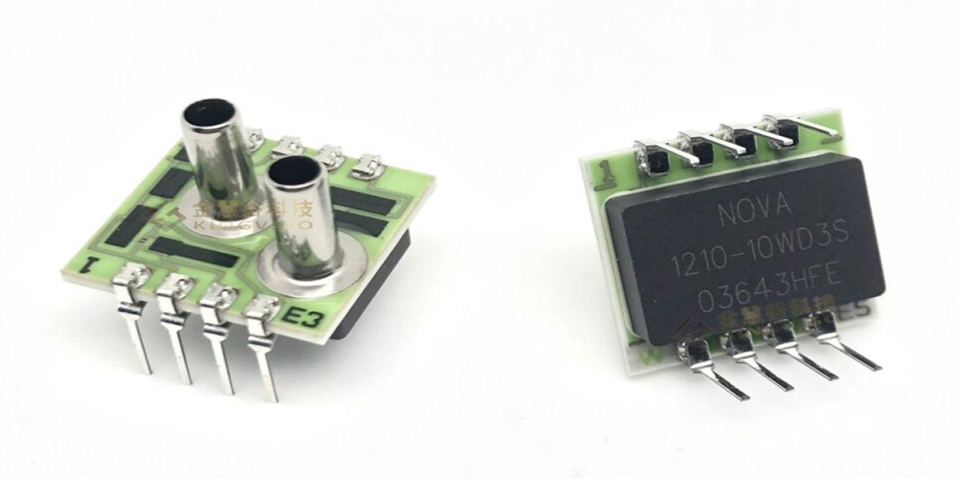 Sensores de baja y media presión con encapsulado DIP para automatización industrial