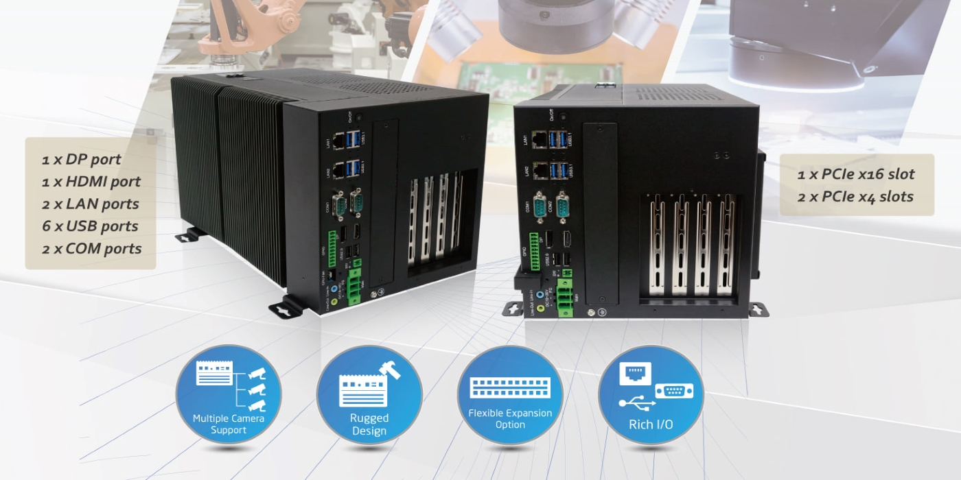 Sistema de visión artificial AVS-600 para machine vision