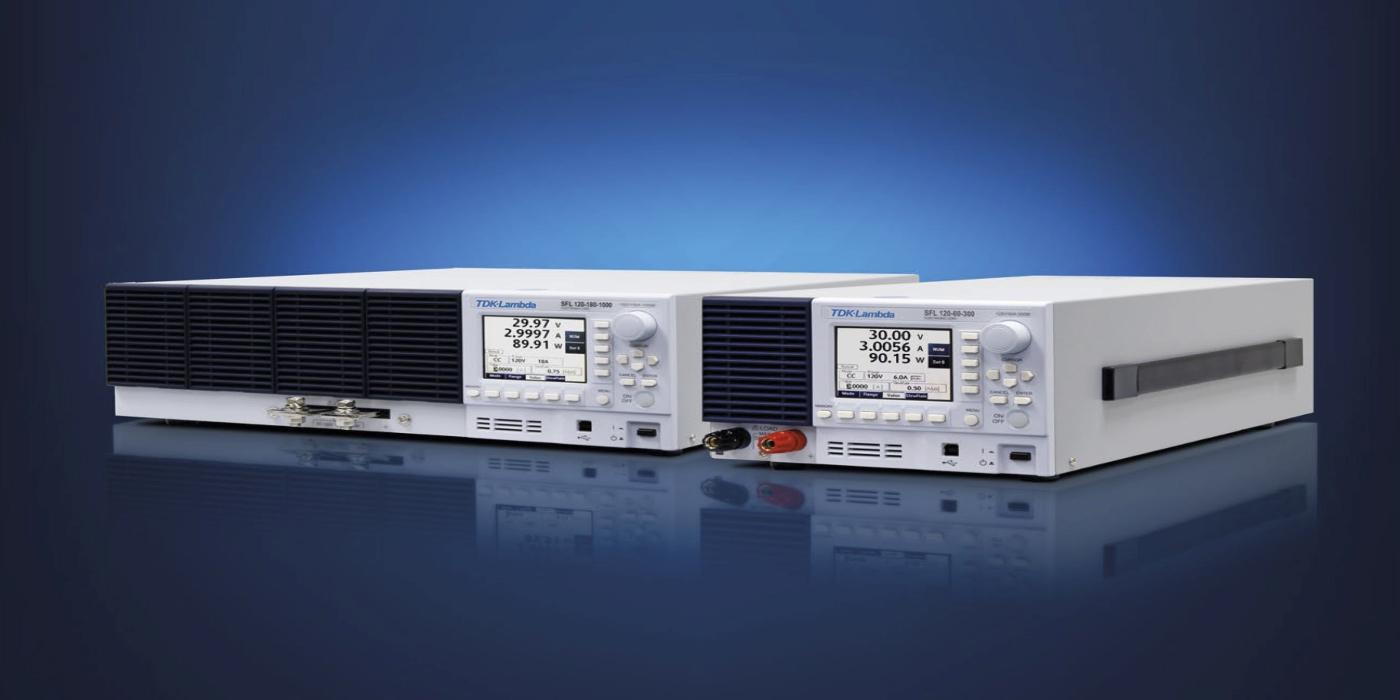 Cargas DC electrónicas programables de 300 y 1000 W con múltiples modos operativos