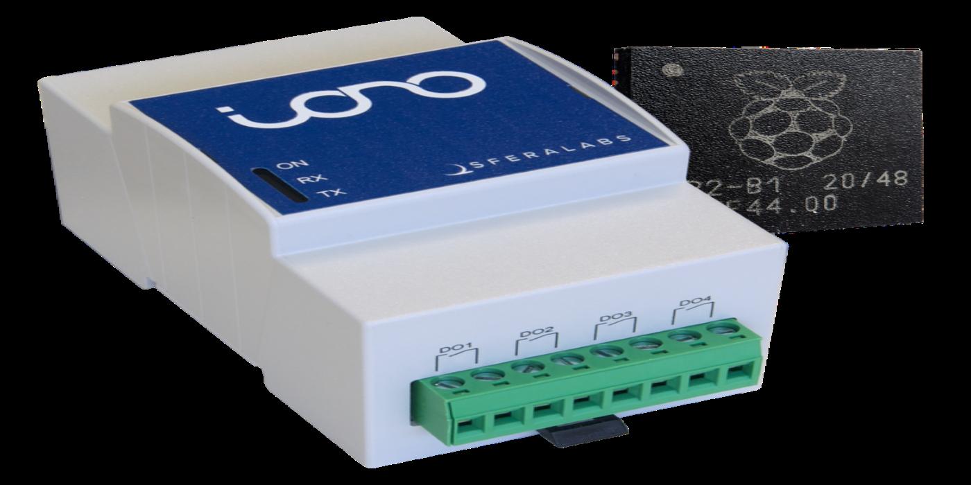 Iono RP – El primer módulo de entrada/salida programable industrial basado en el nuevo microcontrolador RP2040 de Raspberry Pi