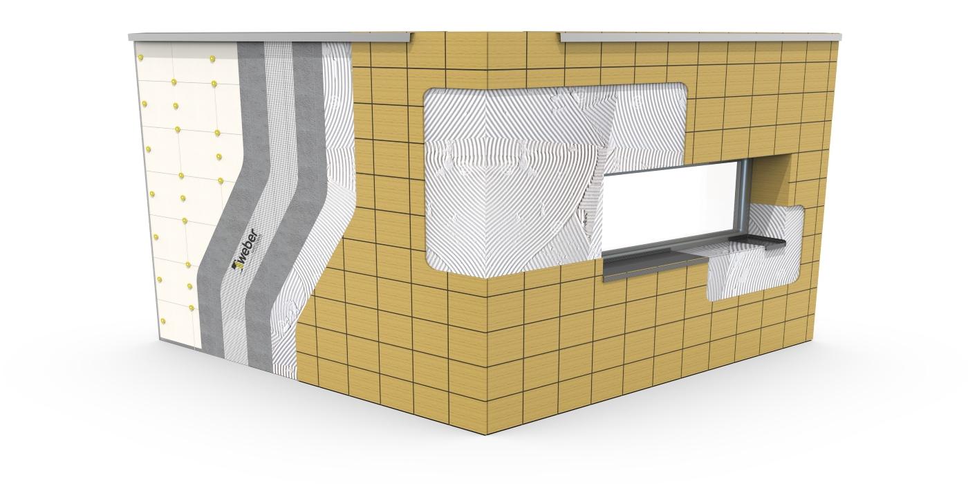 Saint-Gobain Weber ensalza la belleza y la eficiencia energética como cualidades principales del SATE cerámico