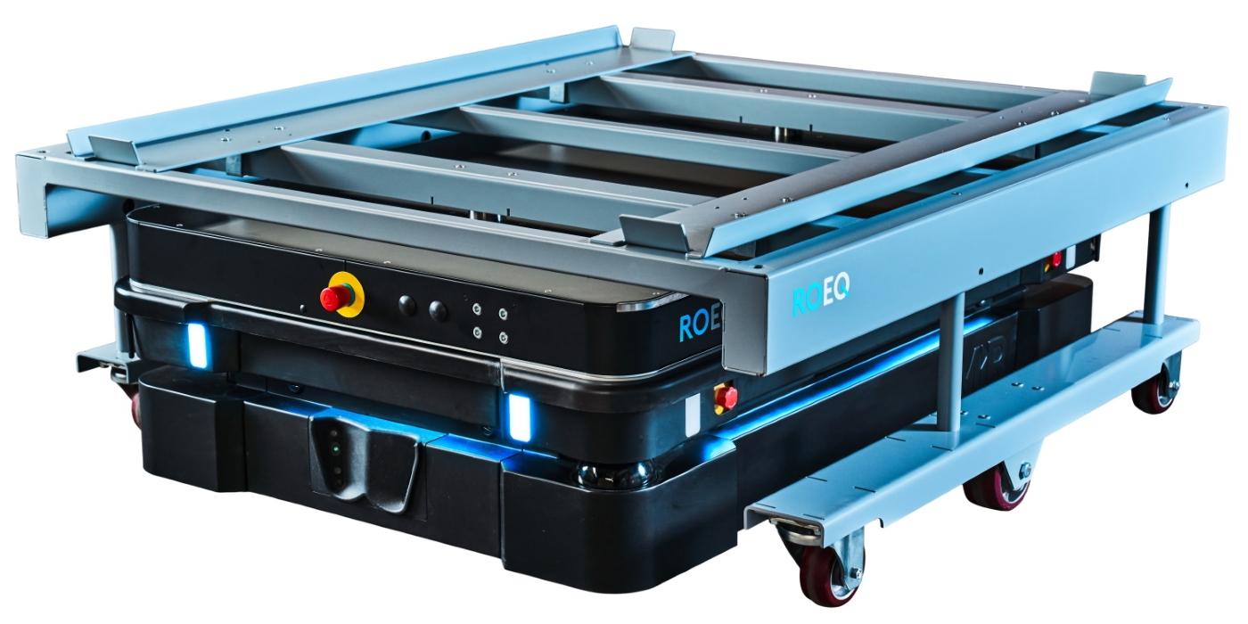 ROEQ lanza el TMS-C1500, su nuevo módulo superior para robots MiR con cargas útiles de hasta 1,5 toneladas métricas