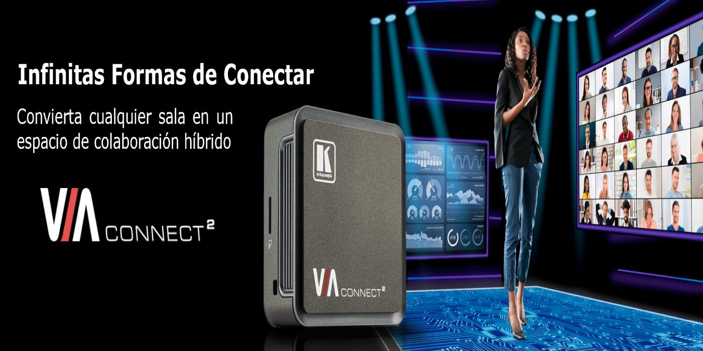 Kramer lanza el nuevo VIA Connect 2