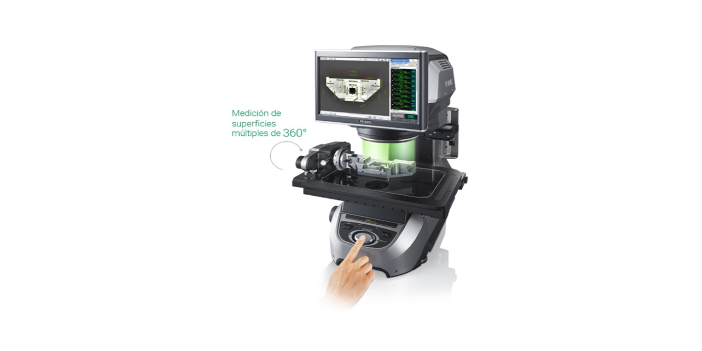 Medición tridimensional con el nuevo IM-8000