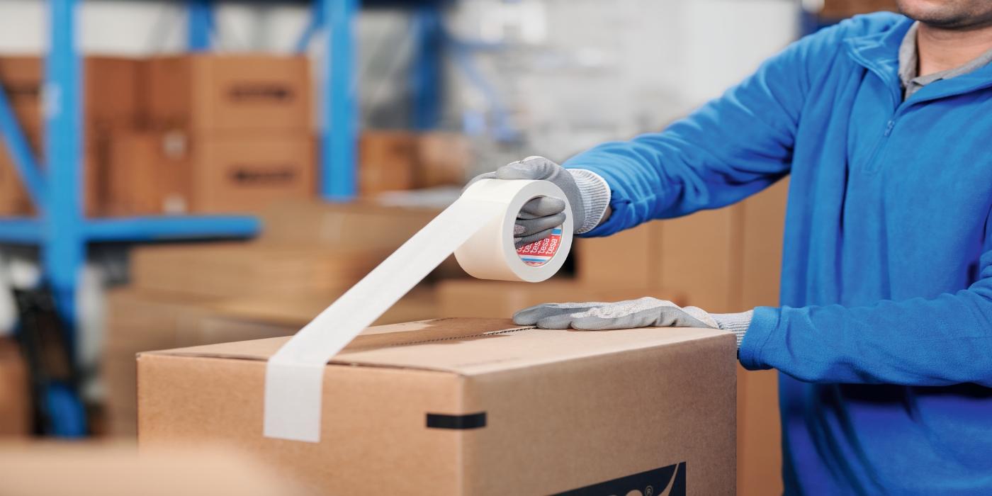 RS Components incorpora a su oferta la nueva cinta de embalaje tesa® 4713 fabricada con papel de fuentes sostenibles